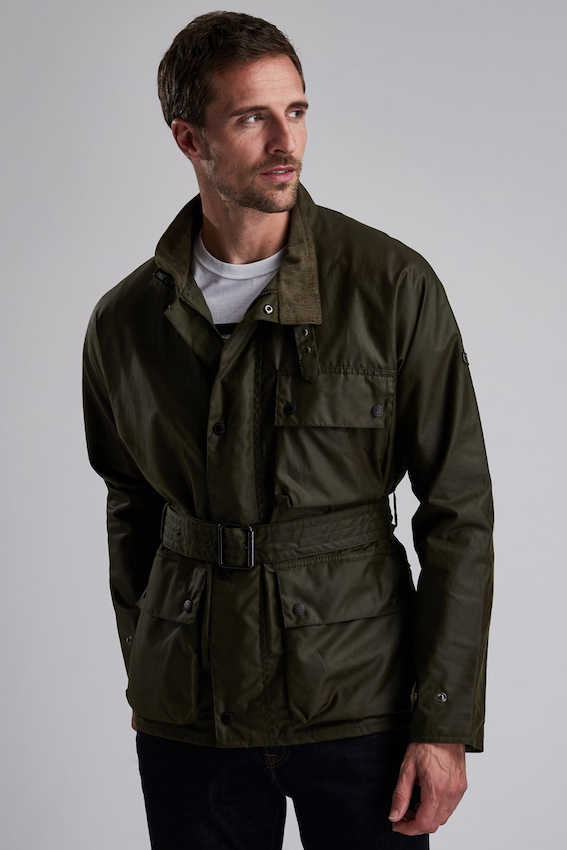 Barbour B. INTL TRAJAN WAX JACKET ARCHIVE