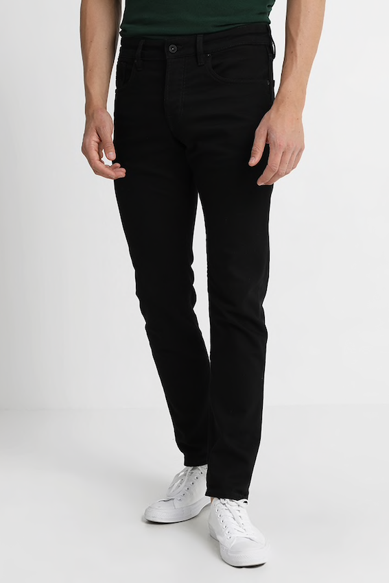 Scotch & Soda SKIM FIT JEANS - STAY BLACK Stay Black
