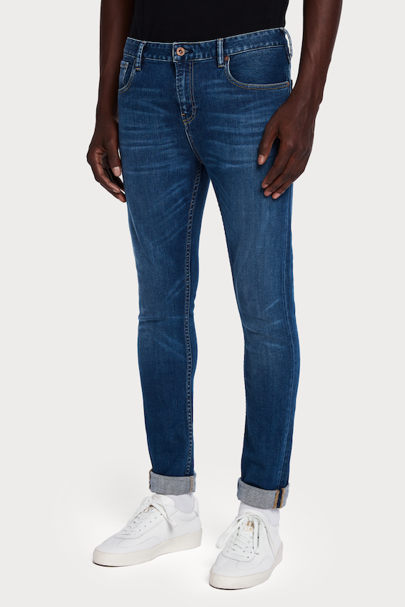 Scotch & Soda SKIM FIT JEANS - LUCKY BLAUW LUCKY BLAUW DARK