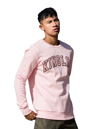KING APPAREL BLACKWALL SWEATSHIRT Pink