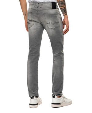 REPLAY HYPERFLEX BIO ANBASS JEANS Light Grey