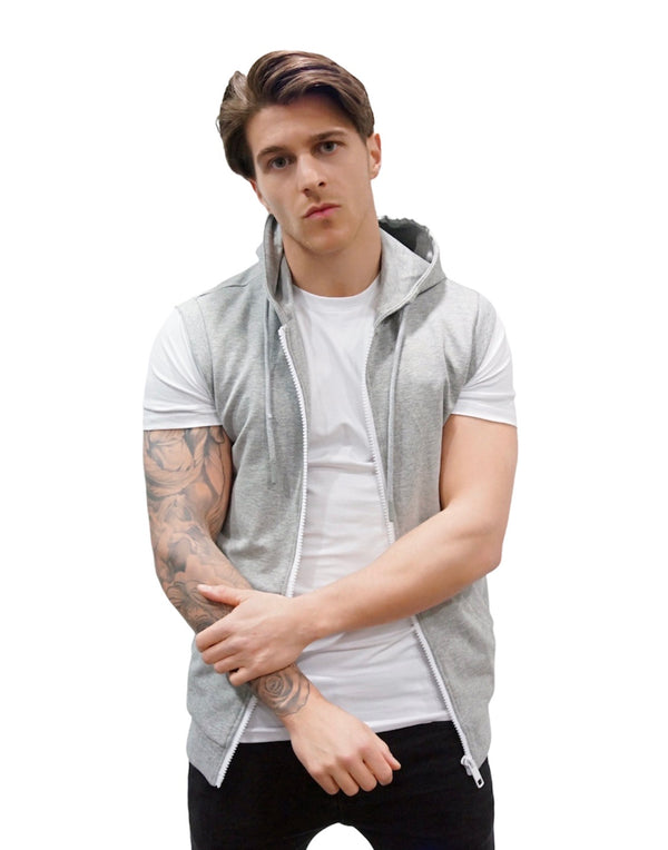 Antony Morato SLEEVELESS FLEECE WITH TAPE Grey