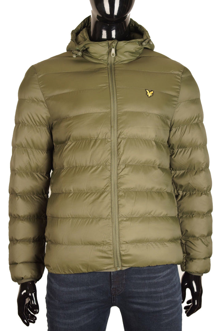 Lyle & Scott Lightweight Puffer Jacket Khaki