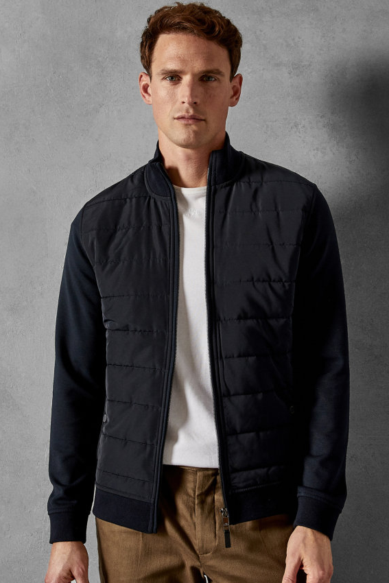 Ted Baker MOWNTAN QUILTED JACKET Navy