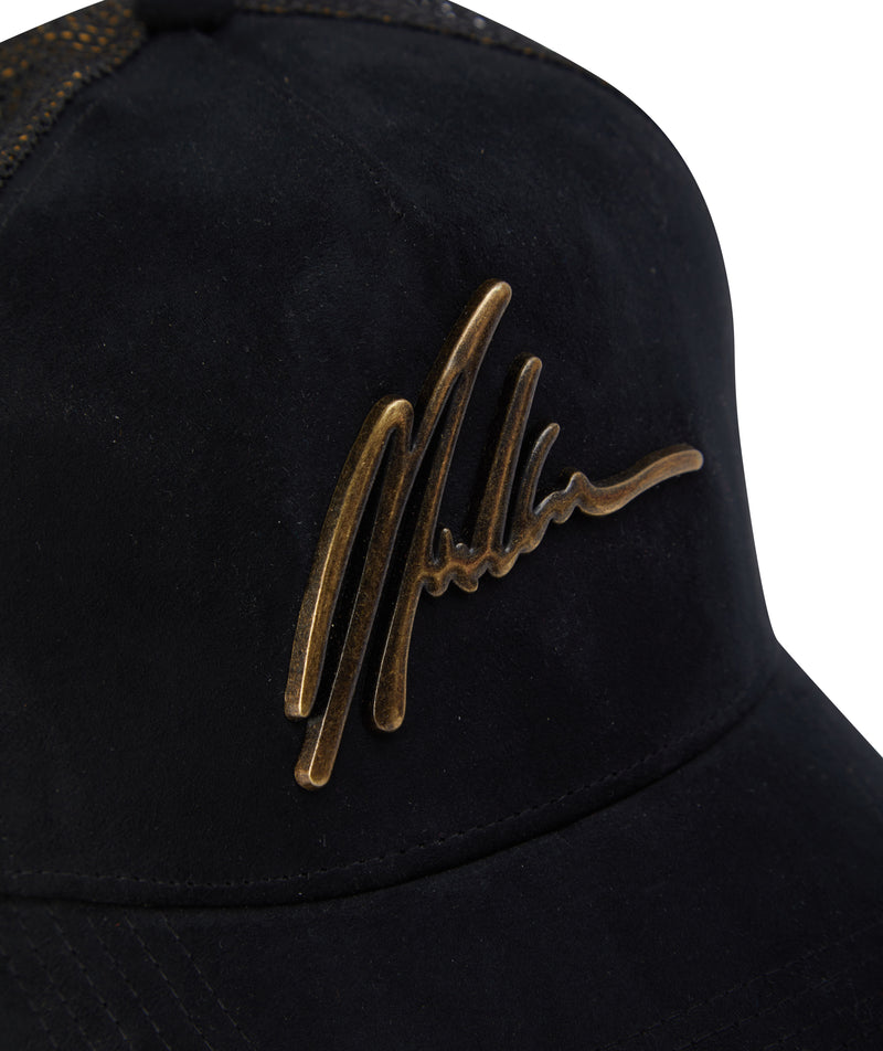 MARTORANA FIGHETTO METAL SIGNATURE CAP FABRIC BACK
