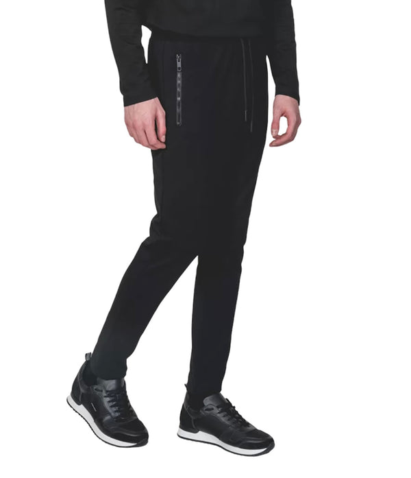 Antony Morato SLIM FIT PLAQUE JOGGERS Black