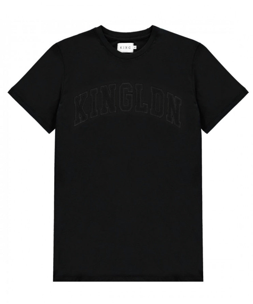 KING APPAREL BLACKWALL T-SHIRT Black