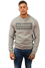 Barbour B. INTL LOGO SWEATER Grey