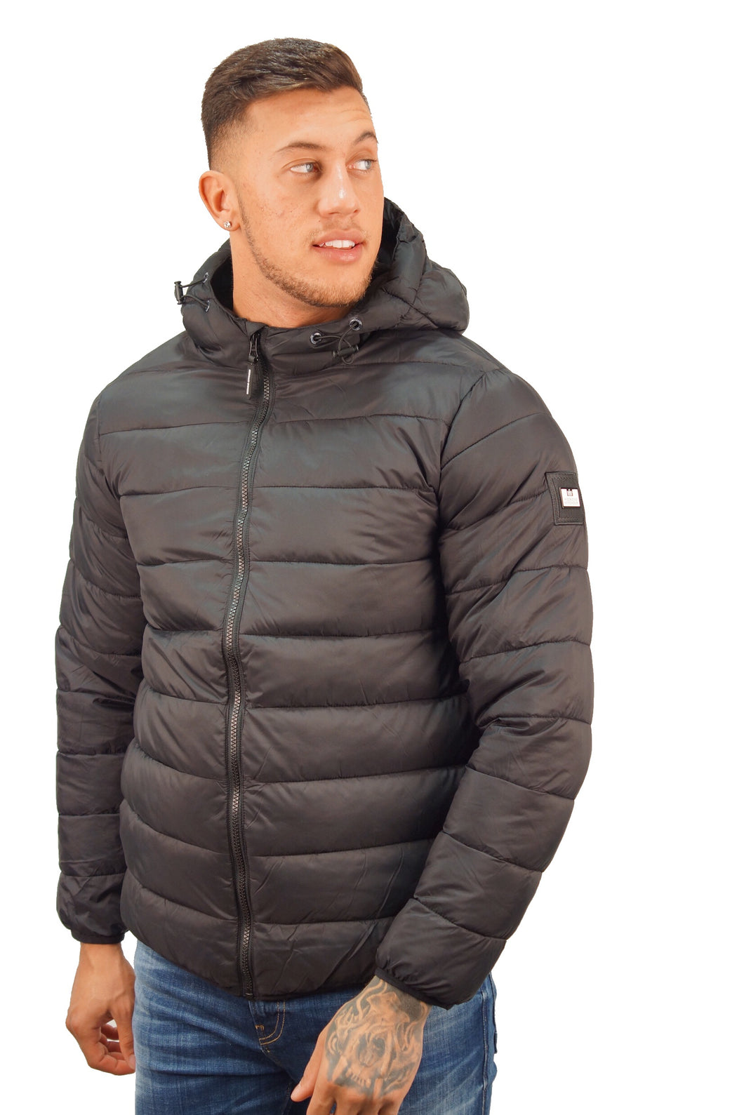 Weekend Offender FRAZIER PUFFER JACKET Black