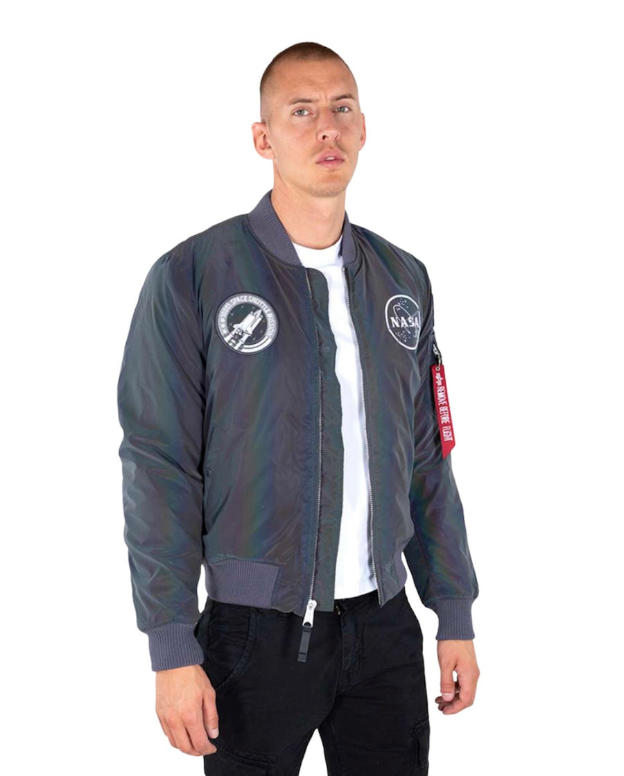 Alpha Industries MA-1 NASA RAINBOW BOMBER JKT RAINBOW