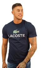 Lacoste S/S LOGO BRANDED TEE Navy