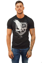 Replay Jeans S/S EAGLE TEE Black