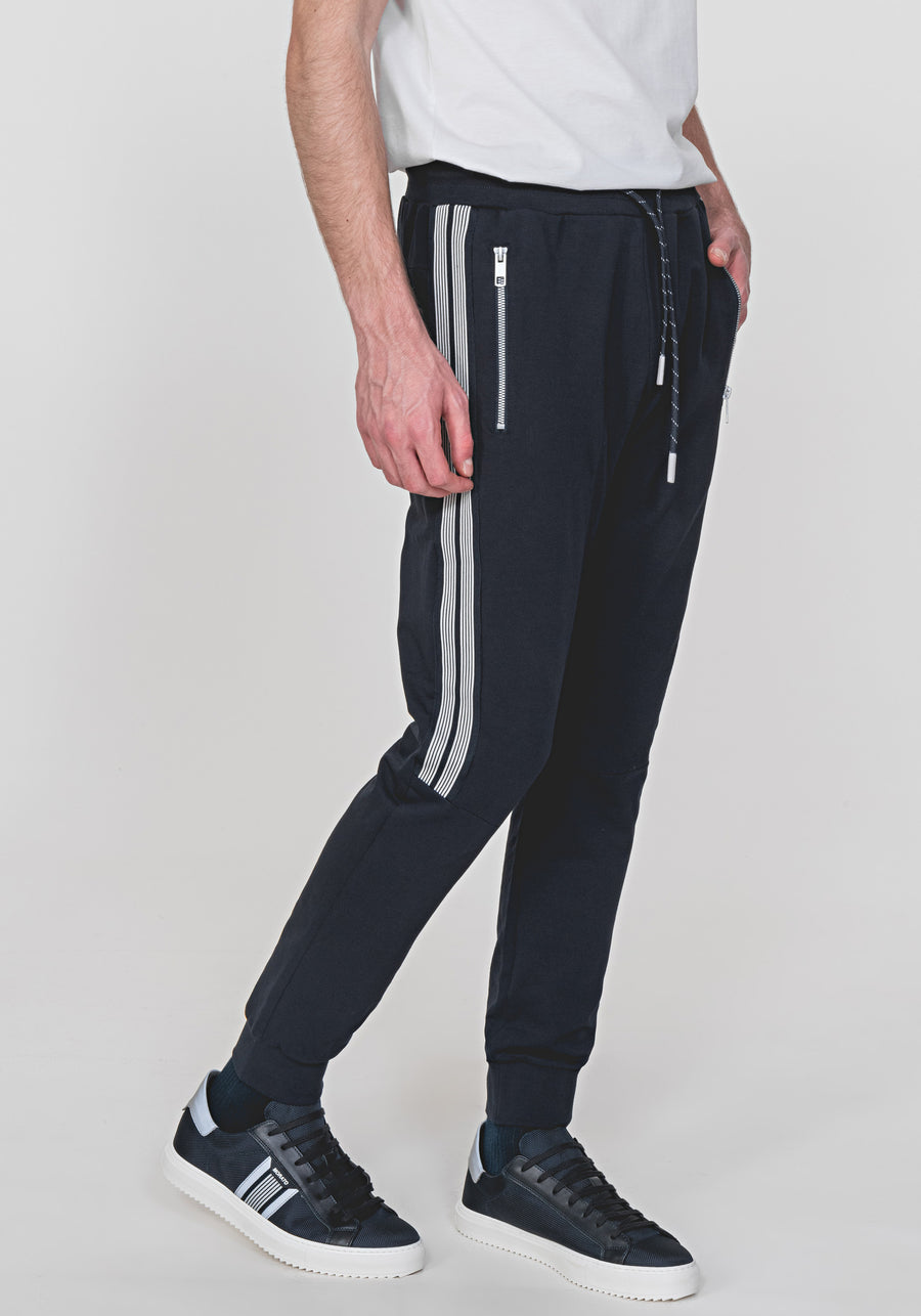 Antony Morato STRIPE TAPE DETAIL SLIM JOGGERS Navy