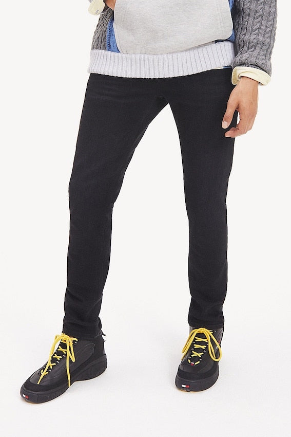 TOMMY HILFIGER SLIM TAPERED STEVE JEANS Black