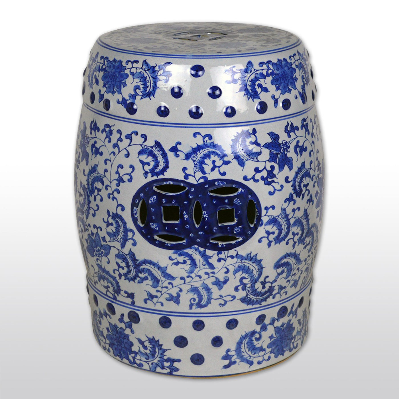 Astounding Oriental Ceramic Garden Stool 17 Featuring Weatherproof Design In Blue White Patio Furniture Caraccident5 Cool Chair Designs And Ideas Caraccident5Info