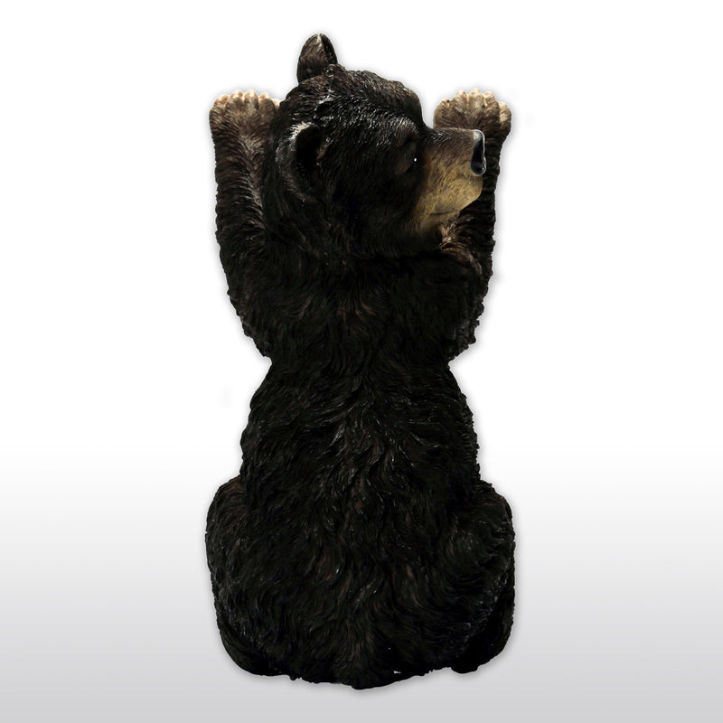 Statues - Cast Resin Bear Cub Wall Decor