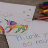 Kids colour in stationery