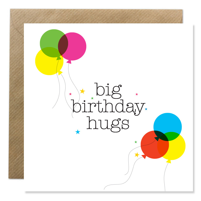 Big Birthday Hugs