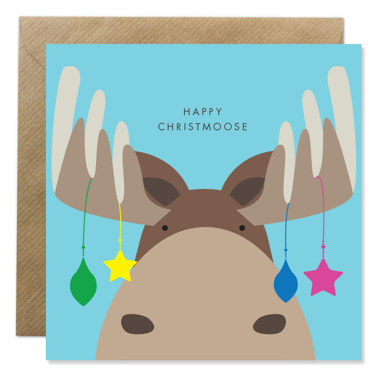 Happy Christmoose