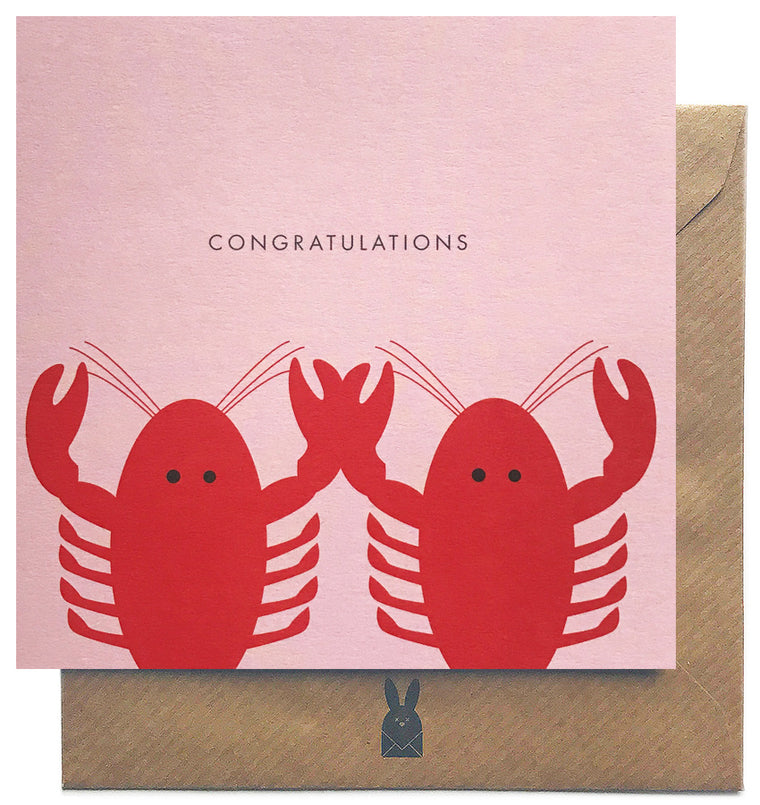 Lobster Congratulations