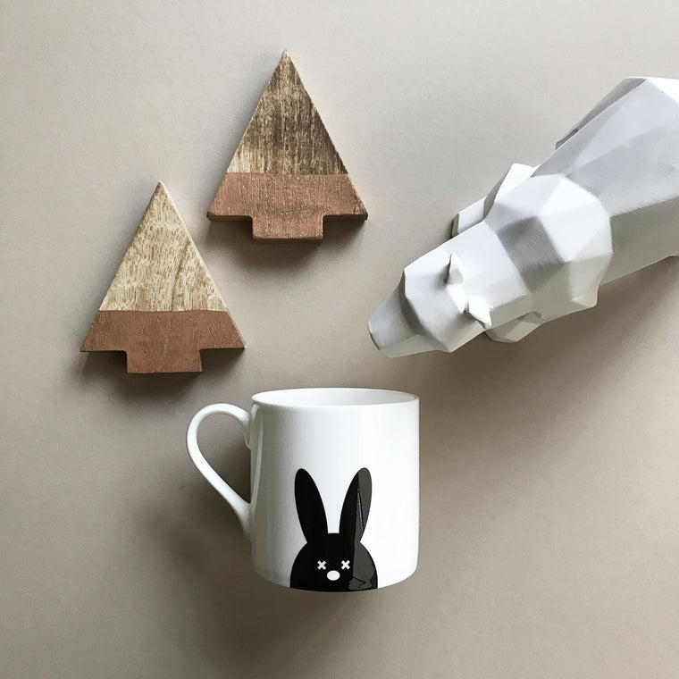 (MIGHTY) FINE BONE CHINA MUG