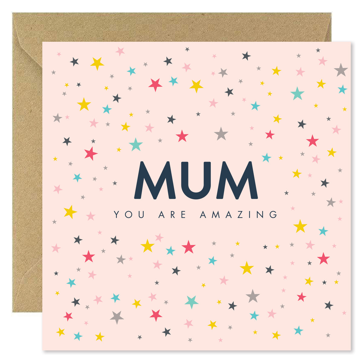 Mum You Are Amazing - Blush Stars