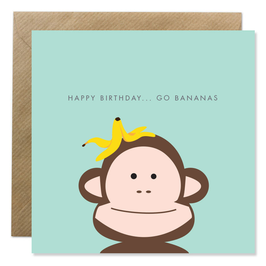 Happy Birthday ...Go Bananas