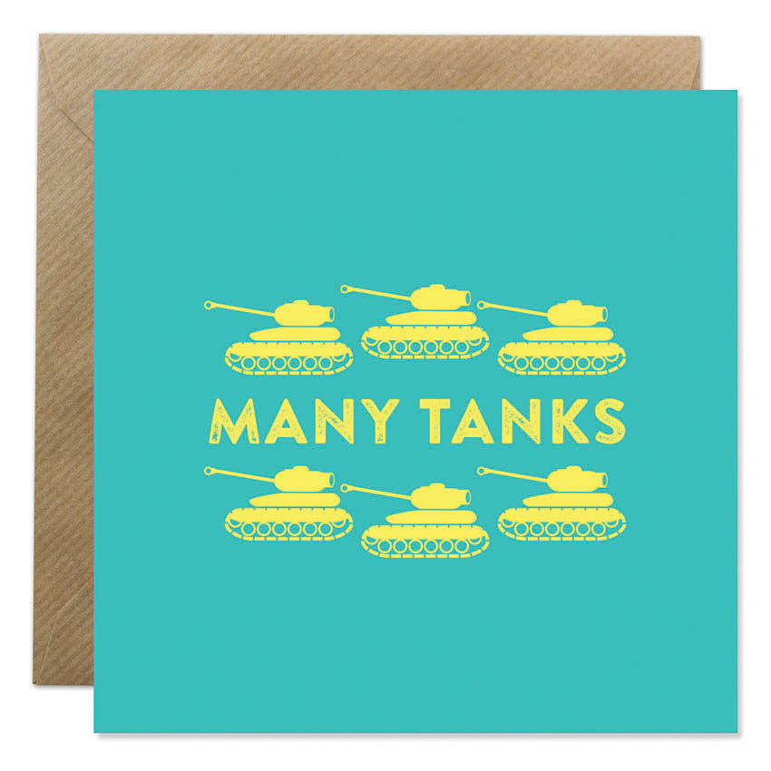 Bright & Bold - Many Tanks