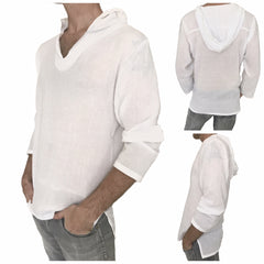 mens hoodie cotton shirt