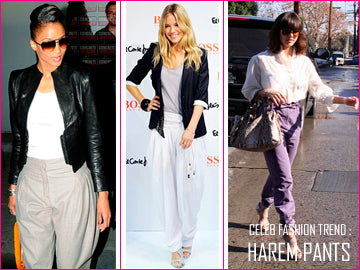 Love-Quality Harem Pants celebrities in baggy pants