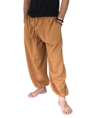 Men's Wear - Men's Baggy Cotton Pants