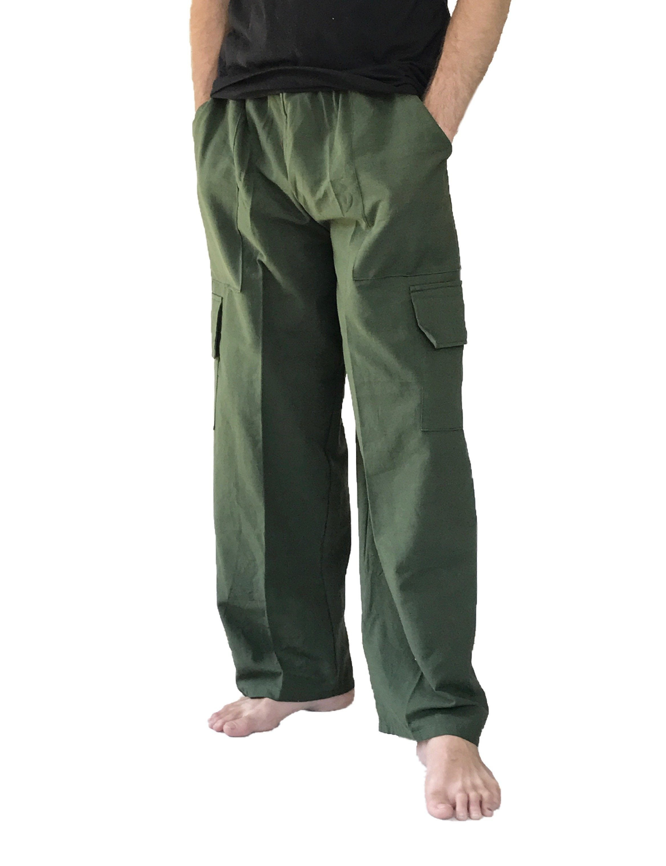Men's Wear - Men's Cargo Pants 100% Cotton