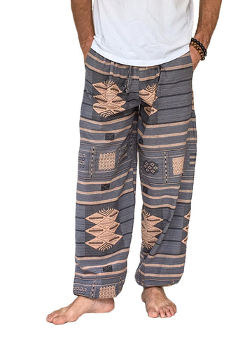 Men's Wear - Men's Printed Cotton Pants
