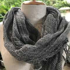 Scarf - NEW Multi Color Thai Organic Cotton Soft Hand Woven Scarves