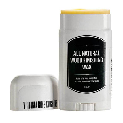 All Natural Coconut Oil And Beeswax Wood Finishing Wax
