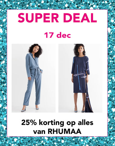 Super deal zaterdag 17 december | Sophie Stone