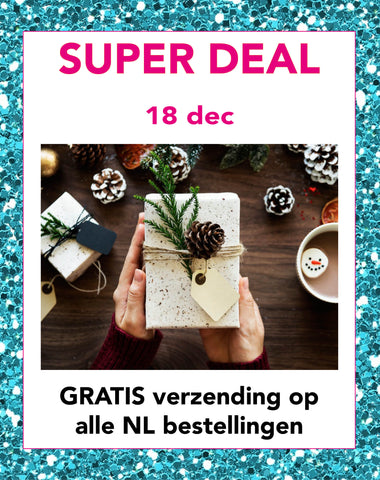 Super deal maandag 18 december | Sophie Stone