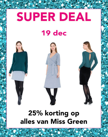 Super deal dinsdag 19 december | Sophie Stone