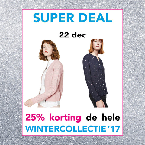 Super deal vrijdag 22 december | Sophie Stone