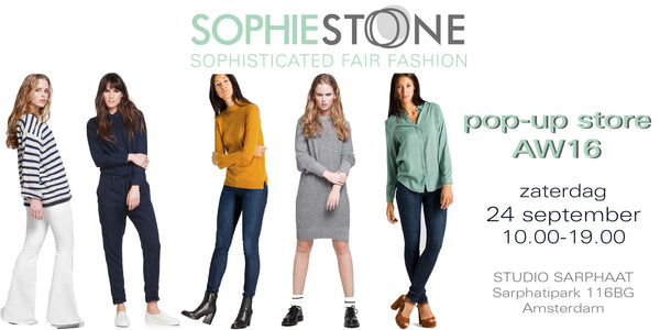 Pop-up Store 24 september 2016 | Sophie Stone