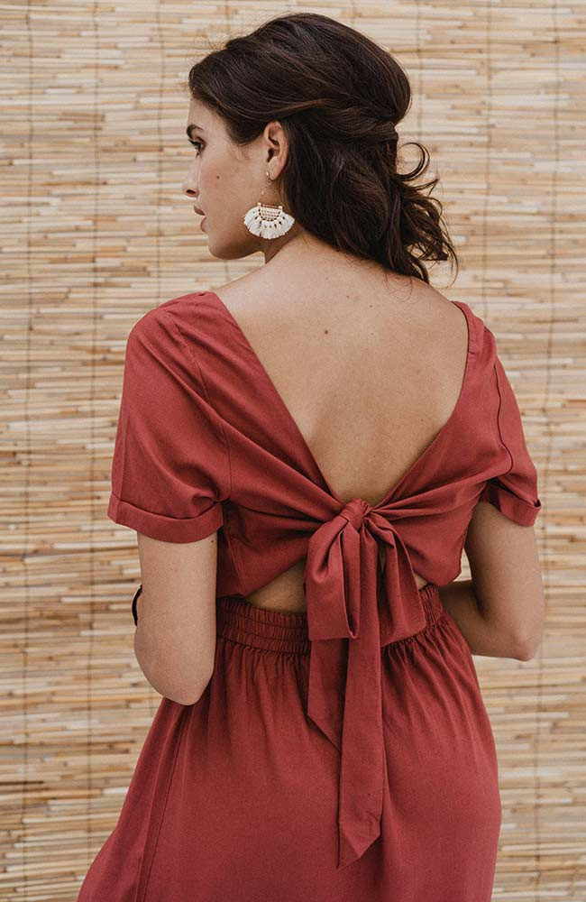 Maxi dress Berry from Sophie Stone