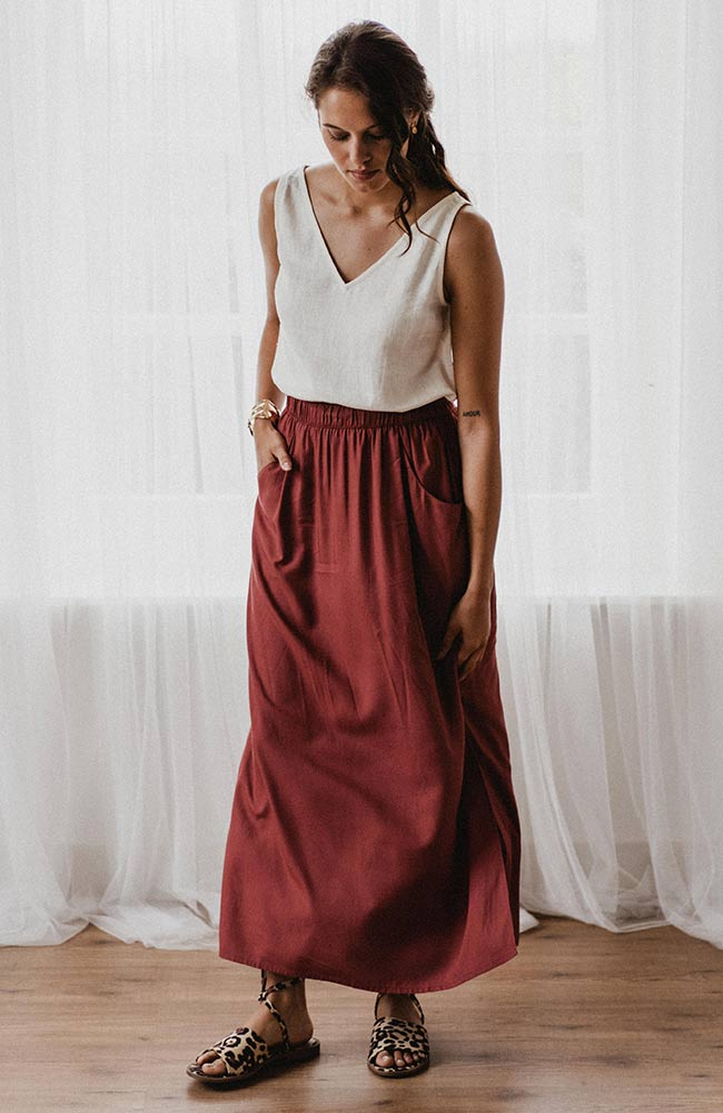 JLABEL Maxi skirt Gurdeep Berry | Sophie Stone