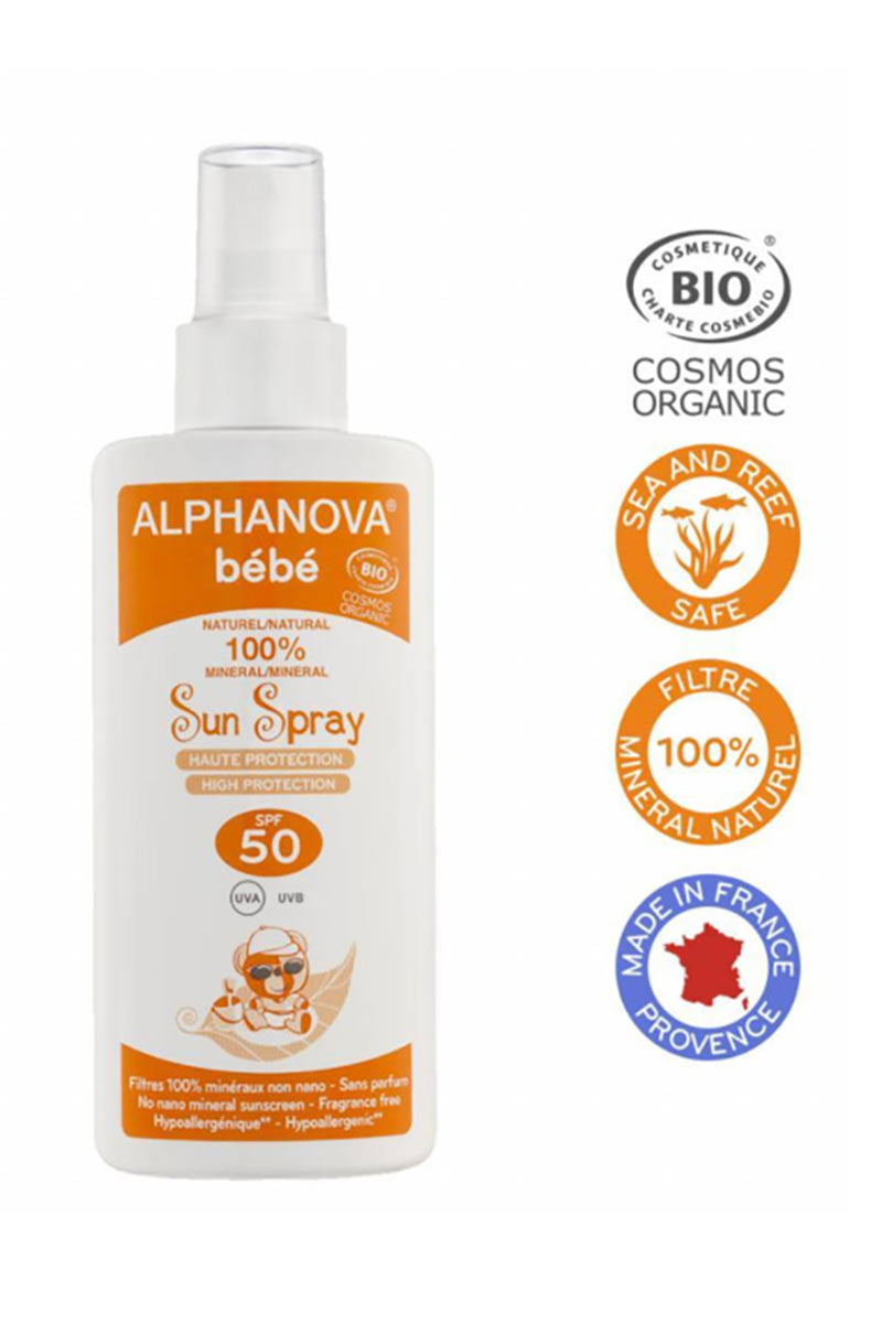 Baby zonnebrandspray SPF50 125 ml