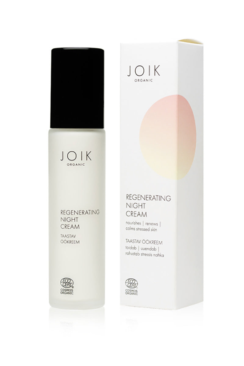 JOIK Regenerating vegan night cream | Sophie Stone