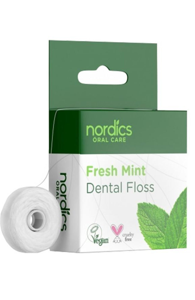 Nordics | Fresh Mint Dental Floss Vegan | Sophie Stone