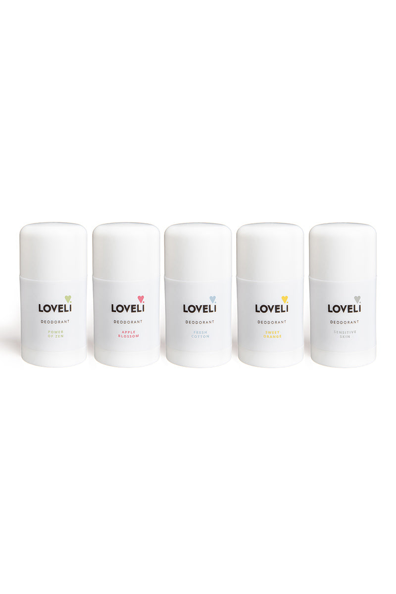Loveli Deodorant Fresh Cotton | Sophie Stone