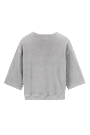 Alchemist Poppy trui Light Grey Melange | Sophie Stone