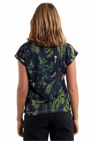 Dedicated Visby leaves t-shirt | Sophie Stone