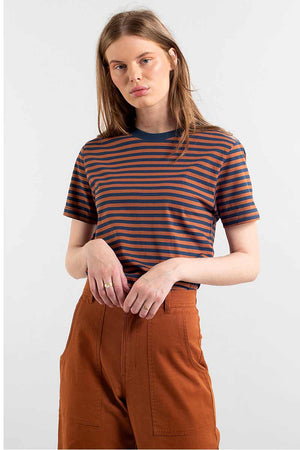 Dedicated Mysen Stripes t-shirt | Sophie Stone