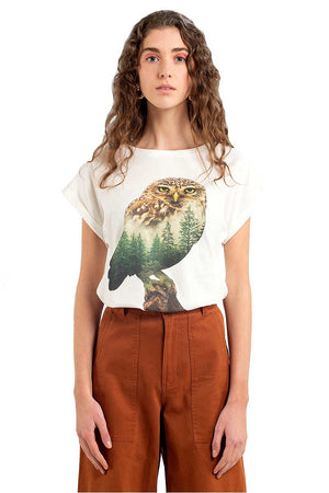 Dedicated VISBY FOREST OWL shirt | Sophie Stone